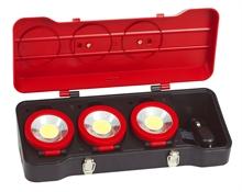 Coffrets de 3 projecteurs LEDs