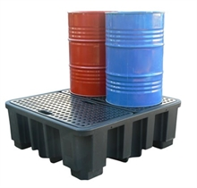 Bacs de rétention polyéthylène Drum