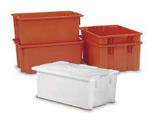Bacs alimentaires rectangulaires emboitables