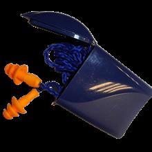Bouchons d'oreilles préformés avec cordelette jetables