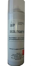 Aérosol décolle étiquettes plastifiées Décolétiquette +