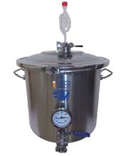 Fermenteurs à bières fonds plats vannes boule démontables