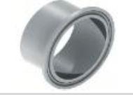 Ferrules micro CLAMP GAZ inox 316