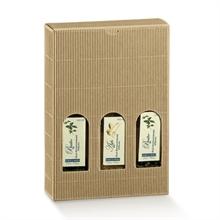Valisettes boites 3 bouteilles de vin - fenêtres