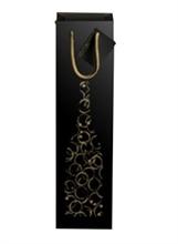 Sacs cadeaux décorés Infinity 1 bouteille magnum